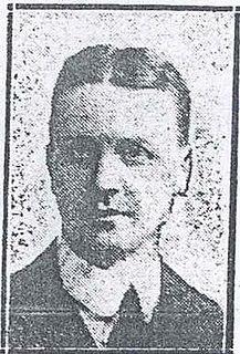 Gilbert Potter Irish police officer