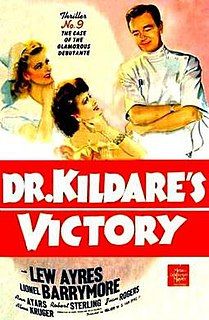 <i>Dr. Kildares Victory</i> 1942 US film directed by W. S. Van Dyke