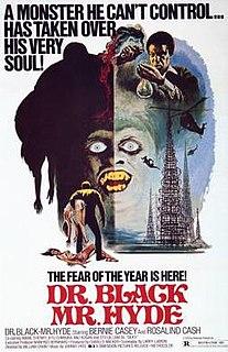 <i>Dr. Black, Mr. Hyde</i> 1976 American blaxploitation horror film by William Crain