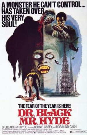 Dr. Black, Mr. Hyde - Film poster by Joseph Smith