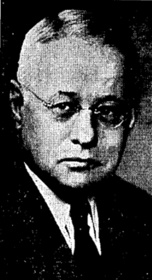 Edward A. Batchelor - Batchelor in 1939, from The Sporting News