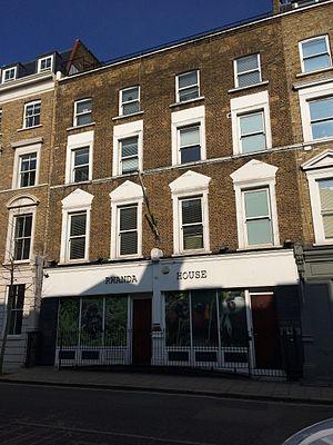 High Commission of Rwanda, London - Image: Embassy of Rwanda in London 2016