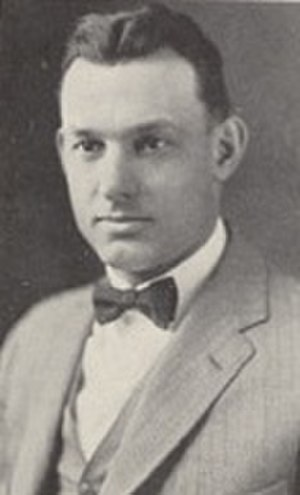 Ernest Bearg - Bearg from 1927 Cornhusker