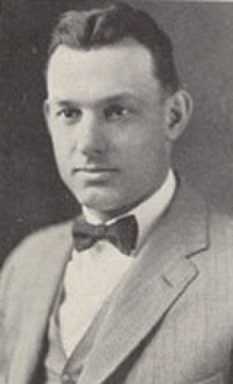 Ernest Bearg - Bearg from 1927 Cornhusker