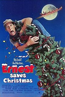 <i>Ernest Saves Christmas</i> 1988 film by John R. Cherry III