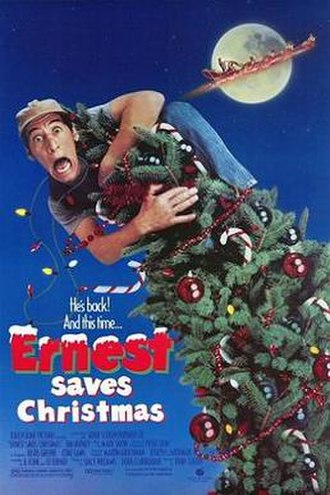 Ernest Saves Christmas - Theatrical release poster