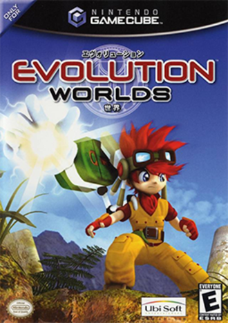 Evolution Worlds - North American box art