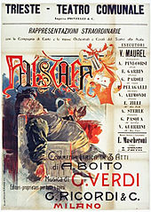 theatre poster advertising Falstaff
