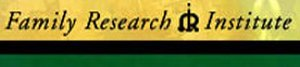 Family Research Institute - Image: Family Research Institute Logo