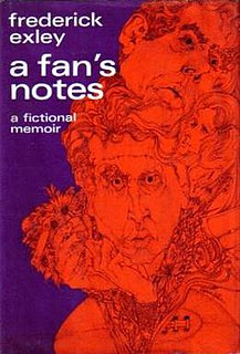<i>A Fans Notes</i> book by Frederick Exley