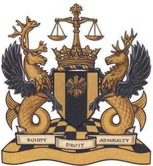 Federal Court (Canada) - Coat of Arms of the Federal Court granted in 2008