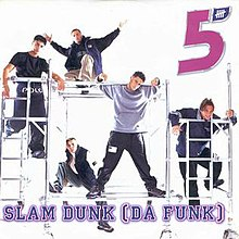 Five — Slam Dunk (Da Funk) (studio acapella)