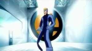 Flatman (comics) - Flatman auditions for the Fantastic Four, in the 2006 cartoon series