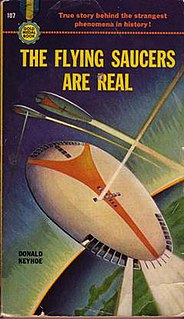 <i>The Flying Saucers Are Real</i> book by Donald Keyhoe
