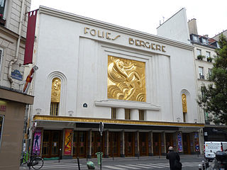 music hall and theatre in Paris, France
