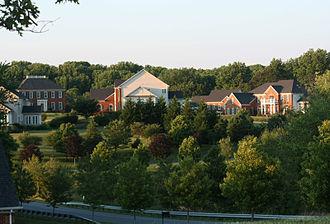 West Friendship, Maryland - Typical neighborhood in West Friendship.