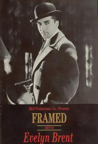 Framed (1930 film) - Image: Framed Film Poster