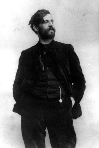 Galileo Chini - Galileo Chini photographed by Mario Nunes Vais circa 1904