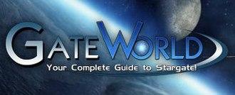 Stargate fandom - Image: Gate World 2Homepage Aug 18
