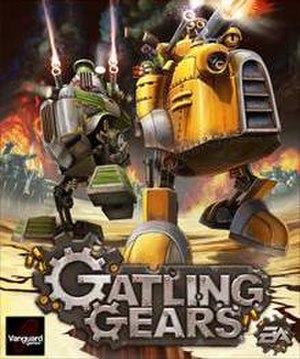 Gatling Gears - Image: Gatling Gears cover