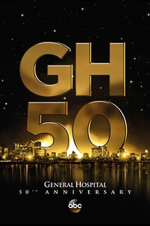 """<i>General Hospital</i><span class=""""nowrap"""" style=""""padding-left:0.1em;"""">'</span>s 50th anniversary"""