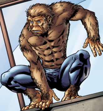 Gibbon (comics) - Gibbon. Art by Ramon Bachs.