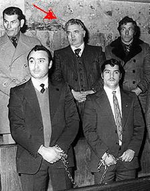 Giuseppe Di Cristina - Giuseppe Di Cristina on trial