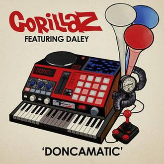 Doncamatic - Image: Gorillaz Doncamatic art