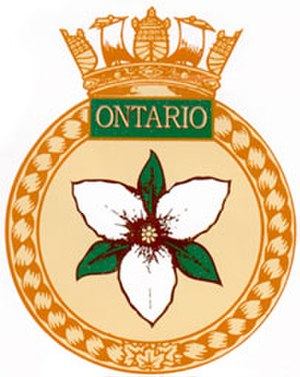 HMCS Ontario (C53) - Image: HMCS Ontario