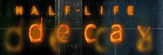 Half-Life: Decay - Half-Life Decay logo