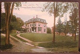 Oren Burbank Cheney - The Cheney House, 1920