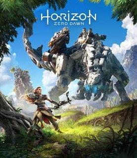 <i>Horizon Zero Dawn</i> 2017 action role-playing video game
