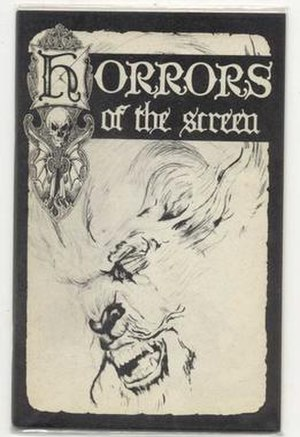 Fanzine - Image: Horrors of the Screen 3 fanzine cover 1964
