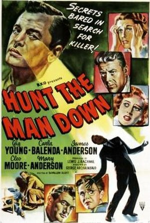 Hunt the Man Down - Theatrical release poster