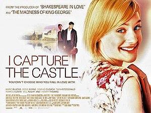 I Capture the Castle (film) - Original UK quad format film poster