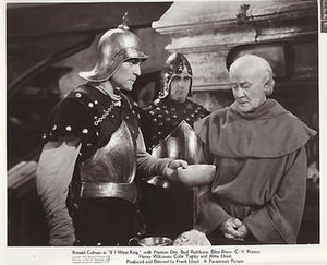 C. V. France - Henry Wilcoxon, Colin Tapley and C.V. France in If I Were King (1938)