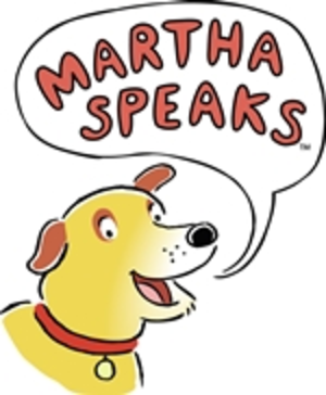 Martha Speaks (TV series) - Image: In The News Martha Logo