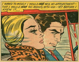 In the Car - The source for In the Car was Girls' Romances number 78 (September 1961).
