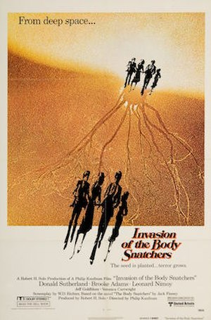 Invasion of the Body Snatchers (1978 film) - Theatrical release poster by Bill Gold
