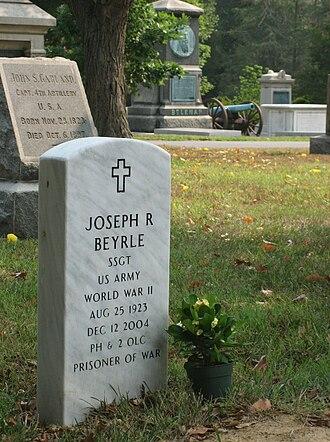 Joseph Beyrle - Joe Beyrle's gravesite