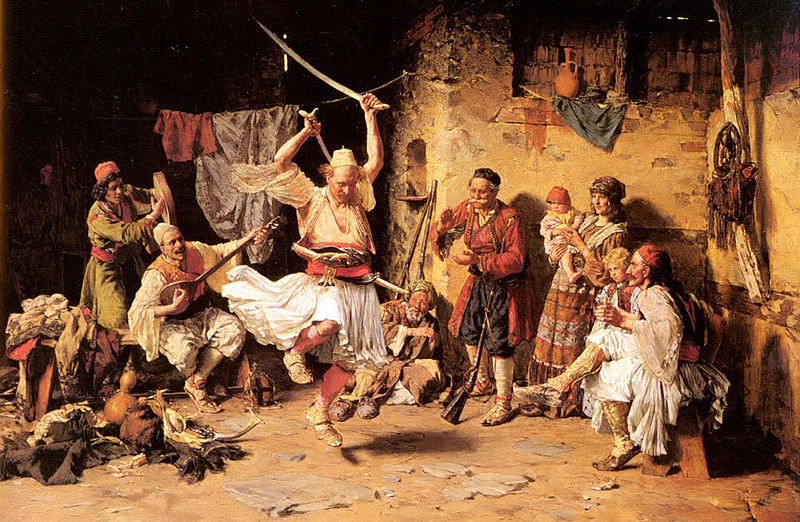 File:Joanovitch Paul (1859–1957) The Sword Dance, Private Collection.jpg