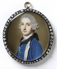 Portrait of Unknown Man, dated 1767. Victoria & Albert Museum