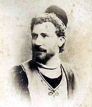 Julian Gayarre who created the role of Marcello in 1882 JulianGayarre1870.jpg