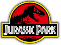 Picture of a book: Jurassic Park