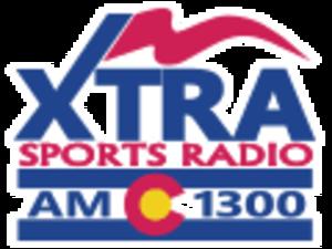 KCSF - Image: KCSF XTRA Sports Radio 1300 logo