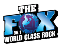 96.1 The Fox logo