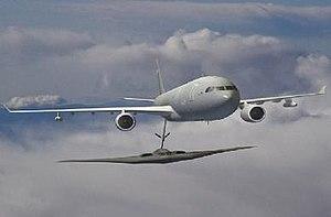 EADS/Northrop Grumman KC-45 - Rendering of KC-45 refueling a B-2