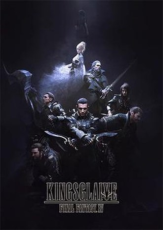 Kingsglaive: Final Fantasy XV - Key visual, depicting the central cast of Kingsglaive: Final Fantasy XV.