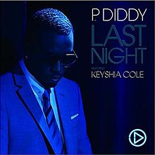 Diddy featuring Keyshia Cole — Last Night (studio acapella)
