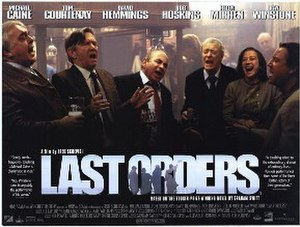 Last Orders (film) - Original poster